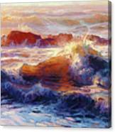 Opalescent Sea Canvas Print