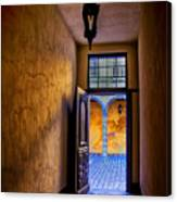 Open Doorway Canvas Print