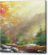Open  Canvas Print