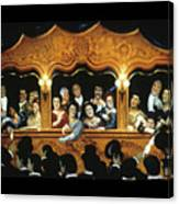 Opening At La Fenice  Canvas Print