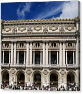 Opera Garnier. Paris. France Canvas Print