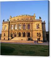 Opera House, Prague Canvas Print