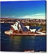 Opera House Sydney Austalia Canvas Print
