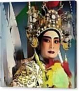 Opera Warrior Canvas Print