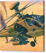Operation Apache Canvas Print