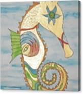 Ophelia The Seahorse Canvas Print