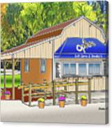 Opie's Snowball Stand Canvas Print