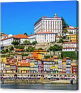 Oporto Riverfront Canvas Print