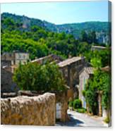 Oppede France - Street View Canvas Print