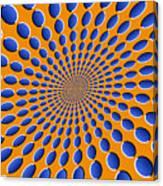 Optical Illusion Pods Canvas Print