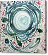Oracular Yule Wreath Canvas Print