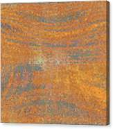 Orange And Gray Abstract Canvas Print