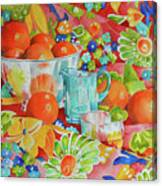 Orange Appeal Canvas Print