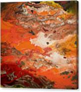 Orange-brown Series No. 3 Canvas Print