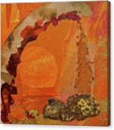 Orange Day Canvas Print