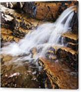 Orange Falls Canvas Print