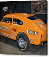 Orange Gasser Canvas Print
