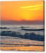 Orange Morn Canvas Print