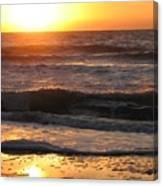Orange Morning  Canvas Print