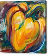 Orange Pepper Canvas Print