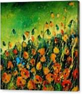 Orange Poppies 459080 Canvas Print