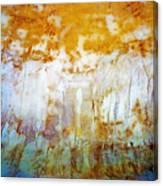 Orange Rim Canvas Print