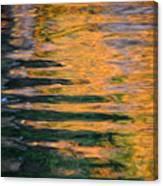 Orange Sherbert Canvas Print