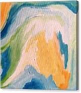 Orange Slush Canvas Print