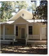 Orange Springs Historic Home Canvas Print