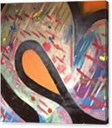 Orange U R? Canvas Print