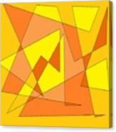Orange You Banana Canvas Print