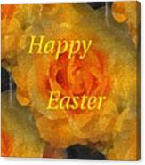 Orange You Lovely Easter Canvas Print