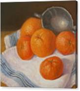 Oranges And Tangerines Canvas Print