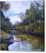 Orara River Nsw Australia 1995   Canvas Print