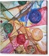 Orb Crossing.. Canvas Print