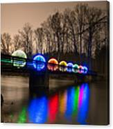Orbs On Osceola Bridge Canvas Print