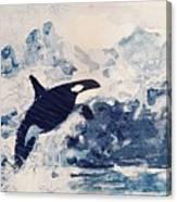 Orca Glacier Canvas Print