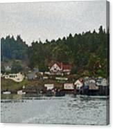 Orcas Island Dock Canvas Print