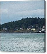 Orcas Island View  Canvas Print