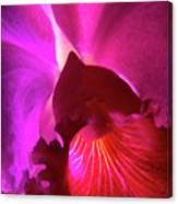 Orchid Landscape Canvas Print