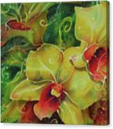 Orchid Series 11 Canvas Print