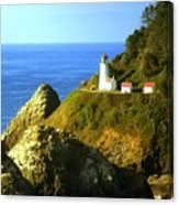 Oregan Lighthouse Canvas Print