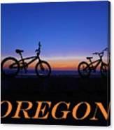 Oregon Bikes 2 Canvas Print