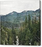 Oregon Cascade Range Canvas Print