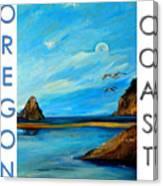 Oregon Coast Graphics Canvas Print