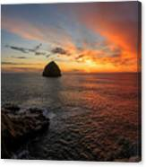 Oregon Coast Sunset Canvas Print