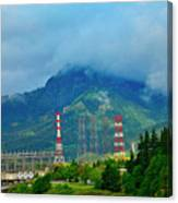 Oregon Columbia River - River View Canvas Print