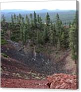 Oregon Landscape - Crater At Lava Butte Canvas Print