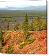 Oregon Landscape - View From Lava Butte Canvas Print