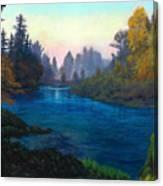 Oregon Santiam Landscape Canvas Print
